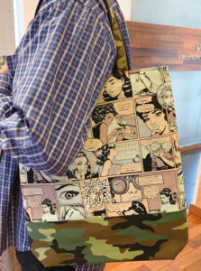 アメコミ,kurumin,男性 トートバッグ